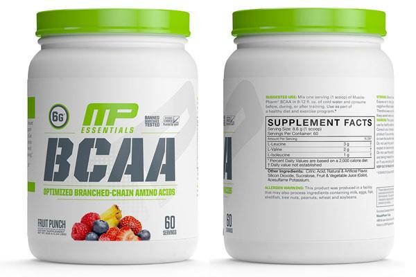 مکمل BCAA – شرکت mp